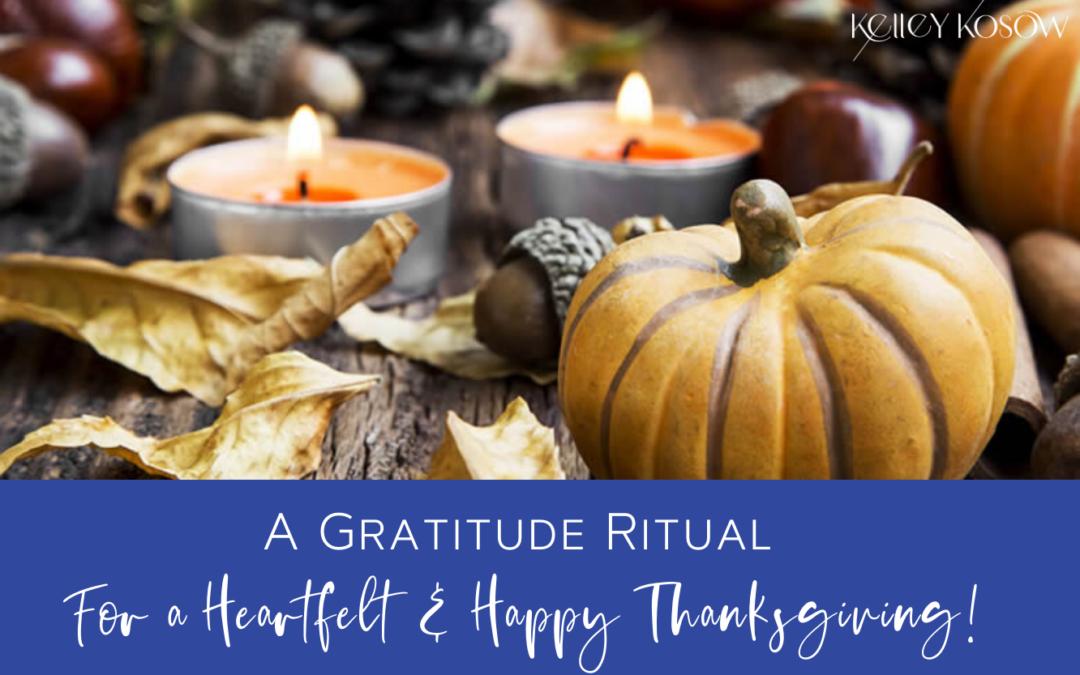 A Gratitude Ritual